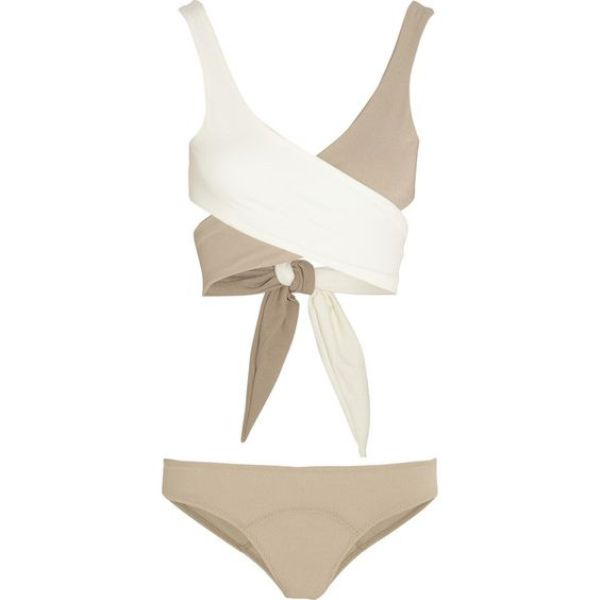 wrap-around-bikini-top 18+ HOTTEST Swimsuit Trends for Summer 2020