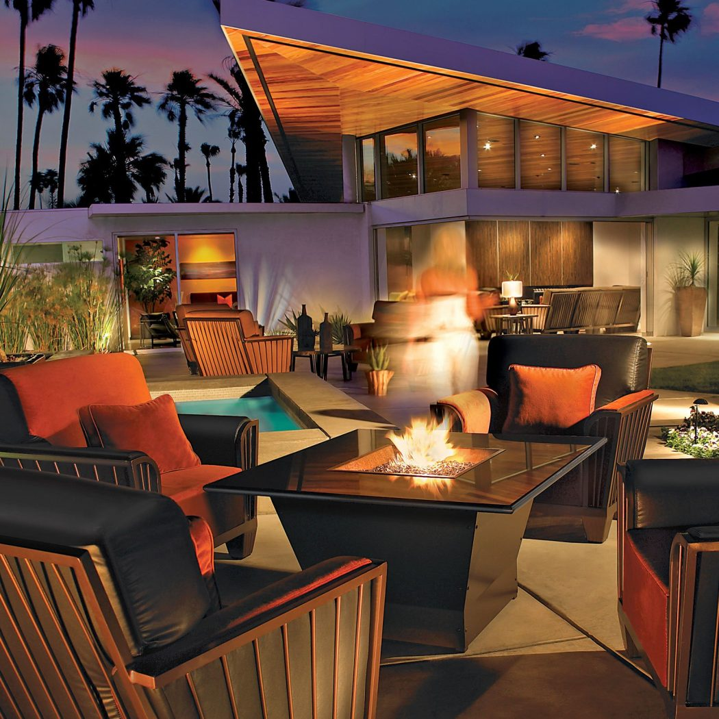 25-classy-fire-table-outdoor-fireplace-homebnc 8 Delightful and Affordable Fire pit Decoration Designs in 2020