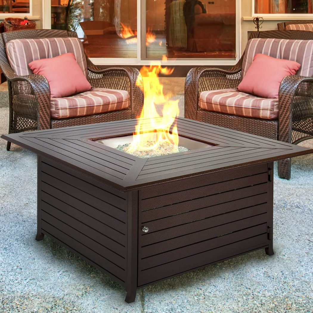 2a-gas-fire-pit 8 Delightful and Affordable Fire pit Decoration Designs in 2020