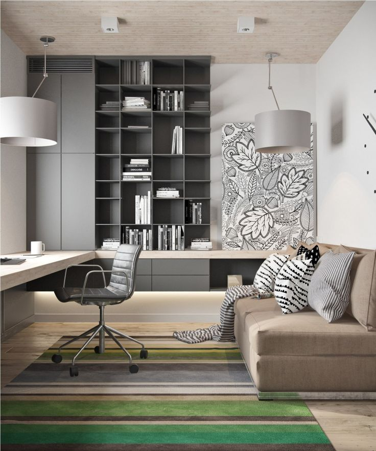 3114e595e5e63346b135c33e771081f7-modern-home-offices-home-office-modern-design 10 Ways to Add Glam to Your Hollywood Home