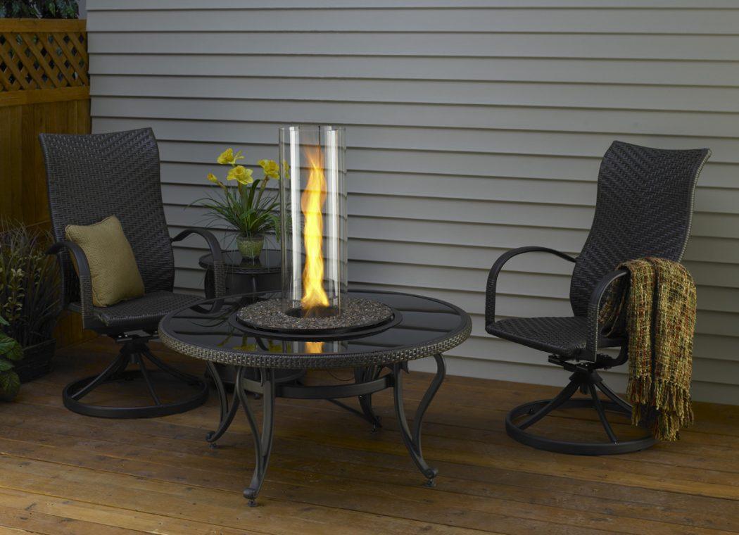 BlackGlassCV_Set_D1 8 Delightful and Affordable Fire pit Decoration Designs in 2020