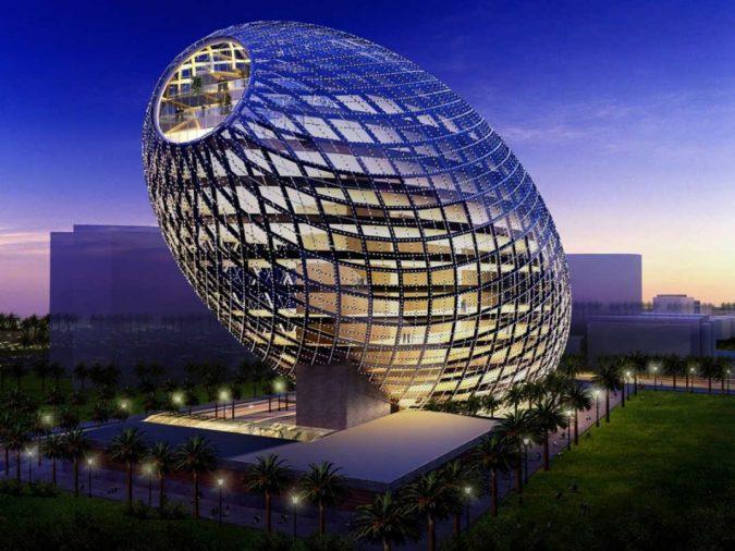 Cybertecture-Egg-Mumbai-675x506 Top 17 Futuristic Architecture Designs in 2018