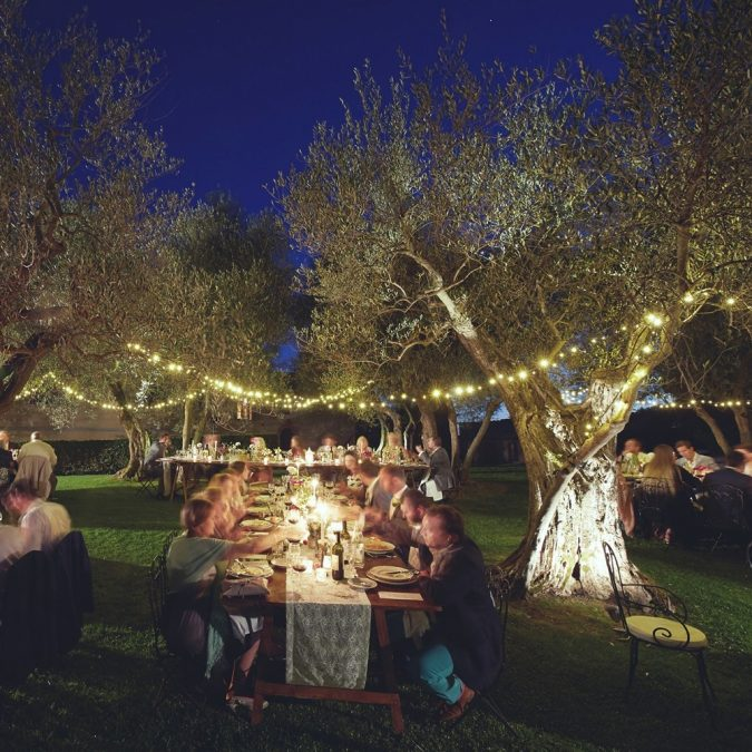 Fairy-Lights-Lighting-outdoor-675x675 11 Tips on Mixing Antique and Modern Décor Styles