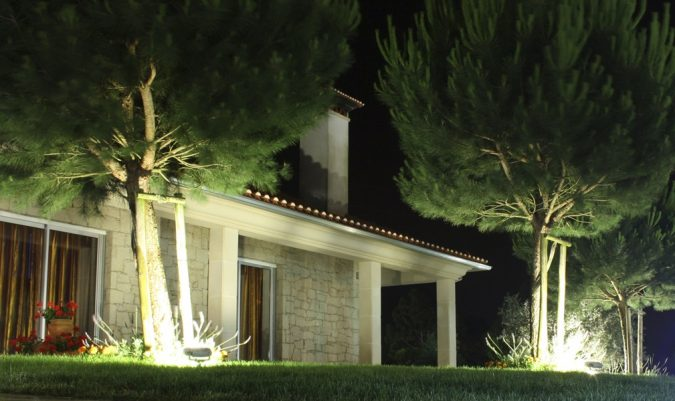 Floodlights-Lighting-outdoor-675x401 Lush Lighting - 5 Tips for Lighting Your Outdoor Spaces