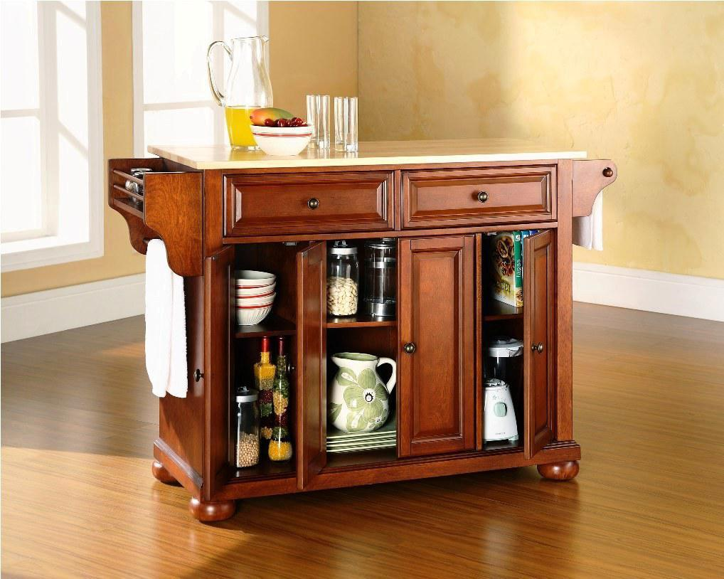 Mobile-Kitchen-Islands-1 6 Affordable Organizing and Decoration Ideas for your Kitchen