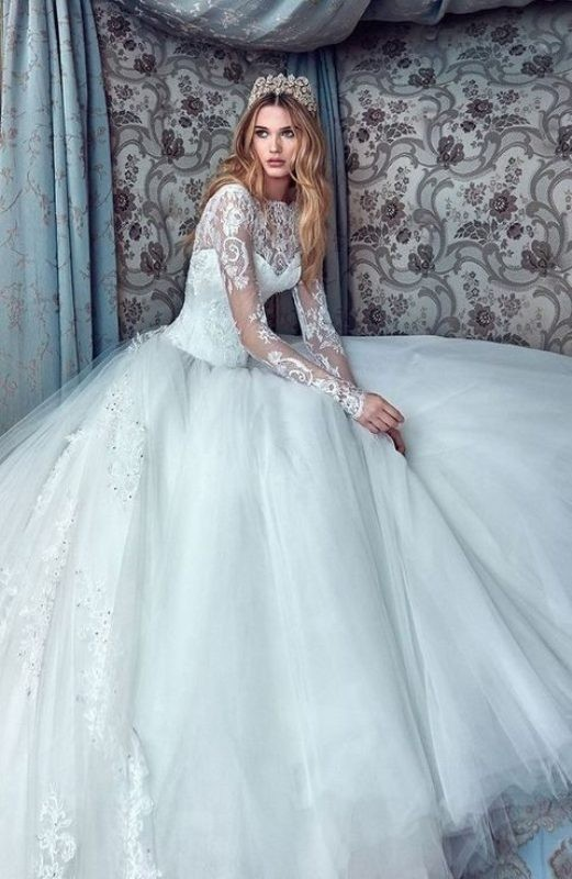 Muslim-wedding-dresses-10 84+ Coolest Wedding Dresses for Muslim Brides in 2018