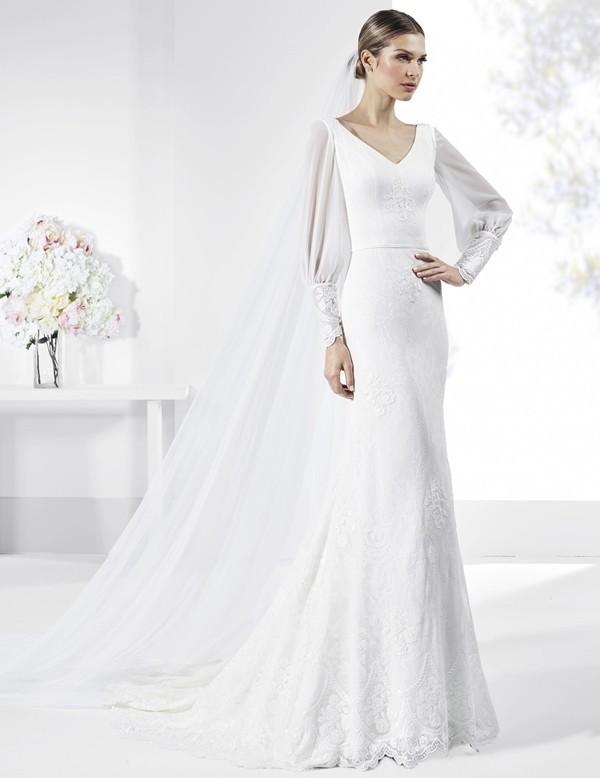 Muslim-wedding-dresses-106 84+ Coolest Wedding Dresses for Muslim Brides in 2020