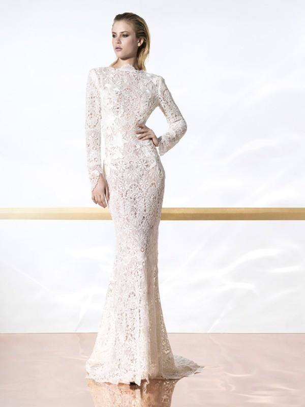 Muslim-wedding-dresses-116 84+ Cool Wedding Dresses for Muslim Brides in 2017