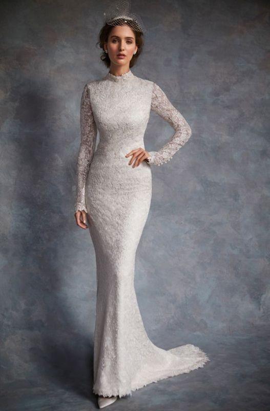 Muslim-wedding-dresses-12 84+ Coolest Wedding Dresses for Muslim Brides in 2020