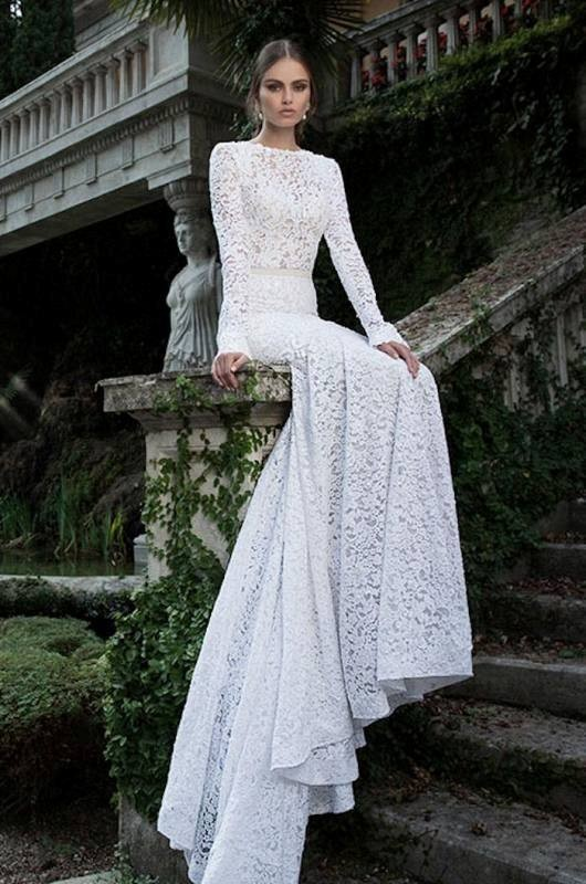Muslim-wedding-dresses-17 84+ Coolest Wedding Dresses for Muslim Brides in 2018
