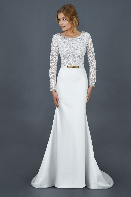 Muslim-wedding-dresses-18 84+ Coolest Wedding Dresses for Muslim Brides in 2020