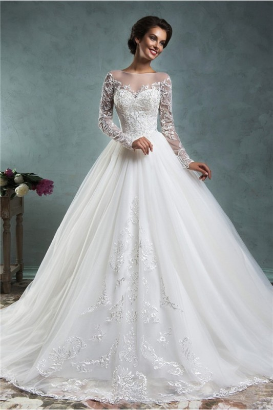 Muslim-wedding-dresses-19 84+ Coolest Wedding Dresses for Muslim Brides in 2018