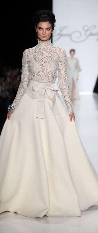 Muslim-wedding-dresses-2 84+ Coolest Wedding Dresses for Muslim Brides in 2020