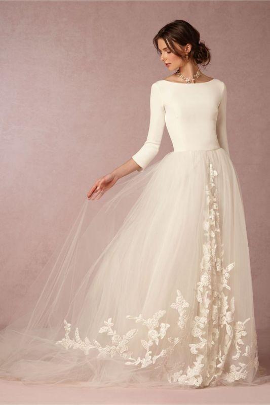 Muslim-wedding-dresses-20 84+ Coolest Wedding Dresses for Muslim Brides in 2020