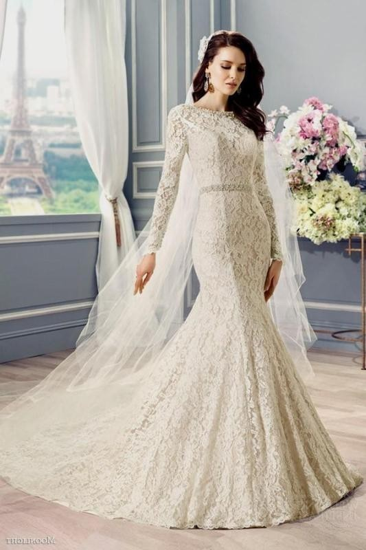 Muslim-wedding-dresses-38 84+ Coolest Wedding Dresses for Muslim Brides in 2018