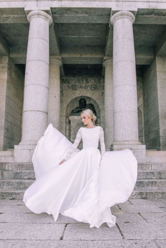 Muslim-wedding-dresses-45 84+ Coolest Wedding Dresses for Muslim Brides in 2018