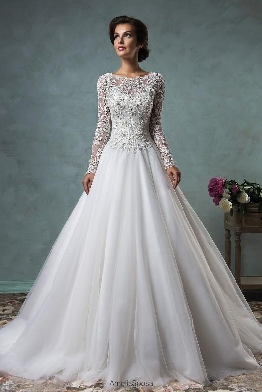 Muslim-wedding-dresses-47 84+ Coolest Wedding Dresses for Muslim Brides in 2018