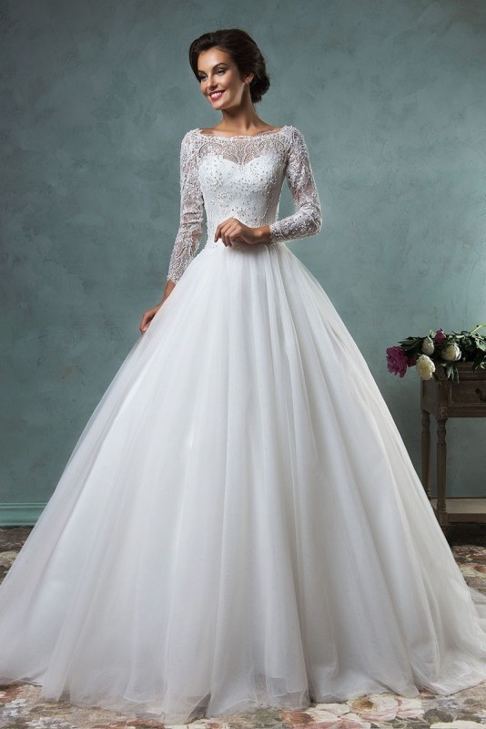 Muslim-wedding-dresses-49 84+ Coolest Wedding Dresses for Muslim Brides in 2017