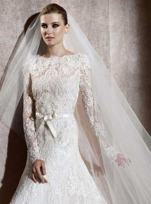 Muslim-wedding-dresses-57 84+ Coolest Wedding Dresses for Muslim Brides in 2020