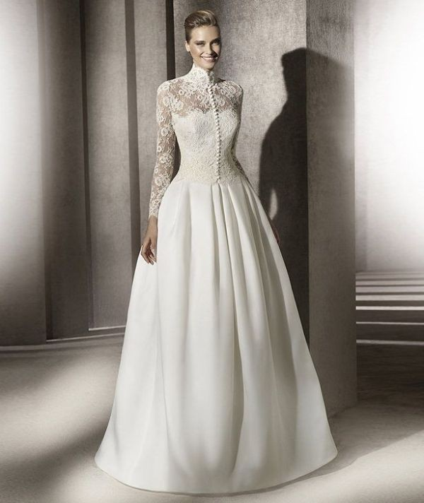 Muslim-wedding-dresses-70 84+ Coolest Wedding Dresses for Muslim Brides in 2018