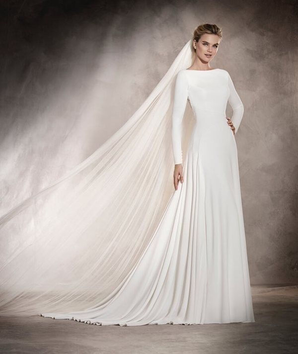 Muslim-wedding-dresses-72 84+ Coolest Wedding Dresses for Muslim Brides in 2018