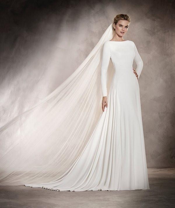 Muslim-wedding-dresses-72 84+ Coolest Wedding Dresses for Muslim Brides in 2020