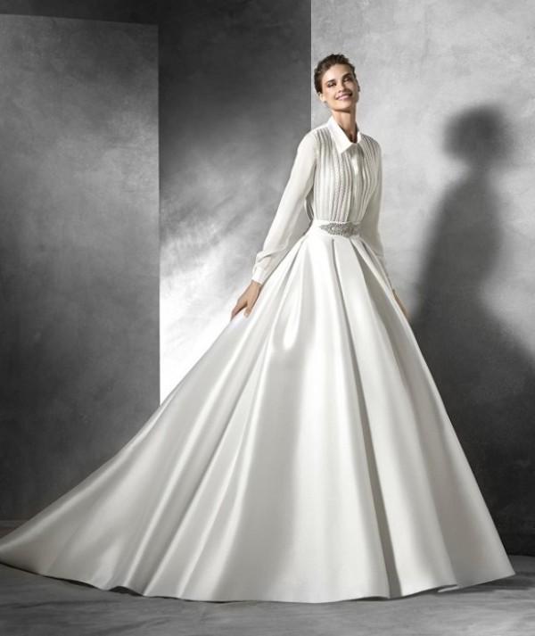 Muslim-wedding-dresses-75 84+ Coolest Wedding Dresses for Muslim Brides in 2020