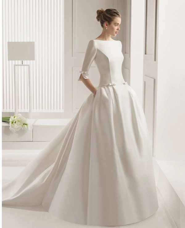 Muslim-wedding-dresses-77 84+ Coolest Wedding Dresses for Muslim Brides in 2020
