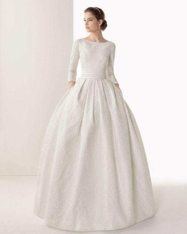 Muslim-wedding-dresses-85 84+ Coolest Wedding Dresses for Muslim Brides in 2020
