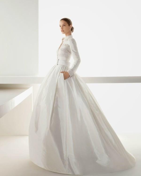 Muslim-wedding-dresses-89 84+ Coolest Wedding Dresses for Muslim Brides in 2020