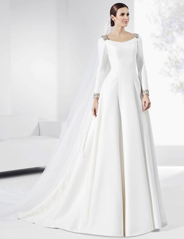 Muslim-wedding-dresses-99 84+ Cool Wedding Dresses for Muslim Brides in 2017