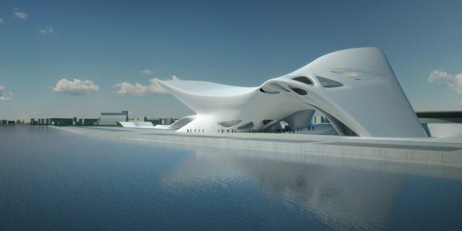 Nuragic-Contemporary-Art-Museum-675x338 17 Latest Futuristic Architecture Designs in 2020