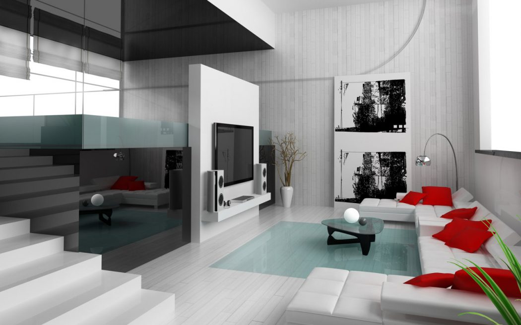 Red-And-Picture-Collection-Website-Interior-Home-Design 10 Ways to Add Glam to Your Hollywood Home