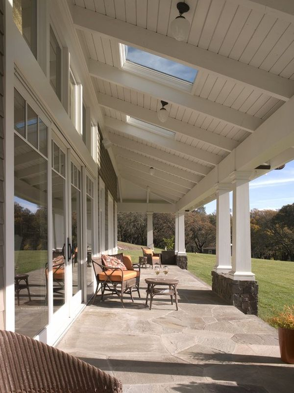 Skylights-Lighting-outdoor 11 Tips on Mixing Antique and Modern Décor Styles