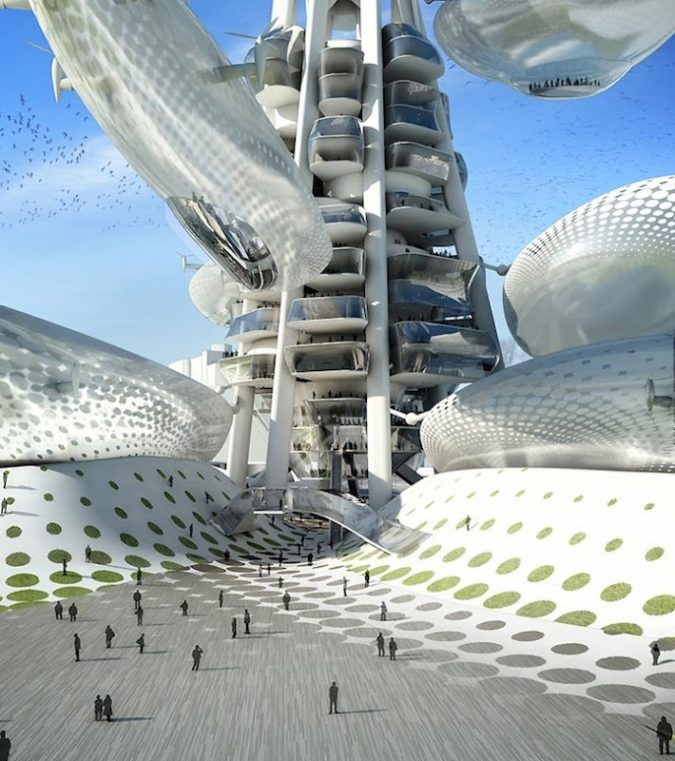 Taichung-Tower-Project-675x761 Top 17 Futuristic Architecture Designs in 2018