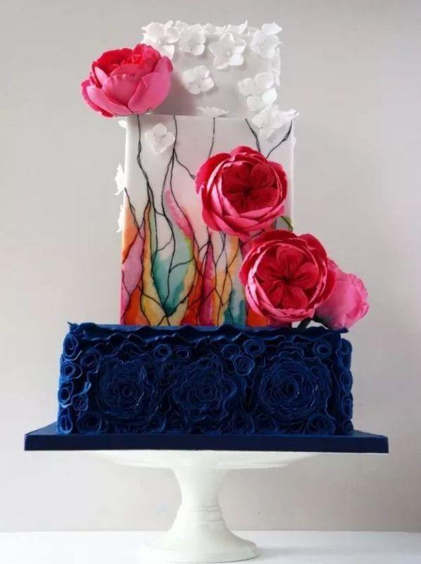 Unique-wedding-cake-ideas-9 8 Most Unique Wedding Party Ideas in 2020