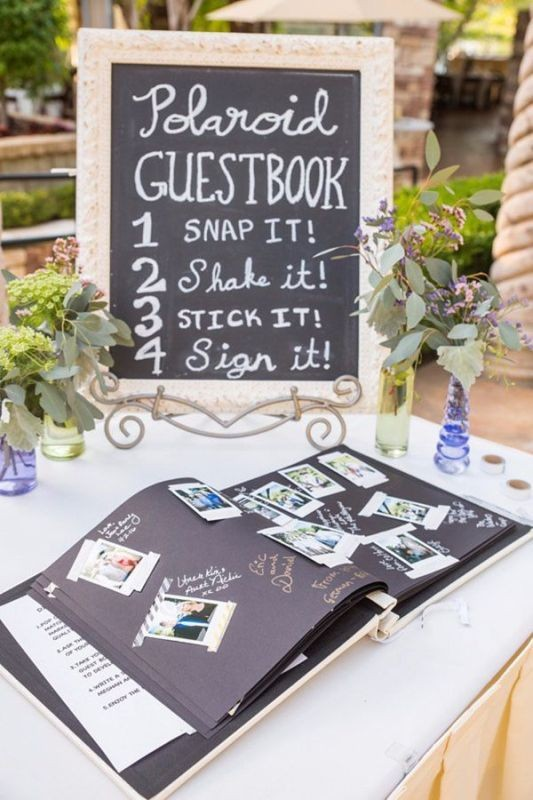 Unique-wedding-guest-book-ideas-1 8 Most Unique Wedding Party Ideas in 2018