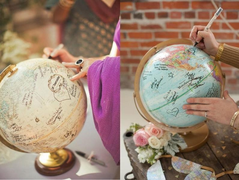 Unique-wedding-guest-book-ideas-9 8 Most Unique Wedding Party Ideas in 2020