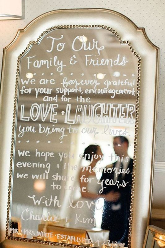 Unique-wedding-sign-ideas-1 8 Most Unique Wedding Party Ideas in 2020