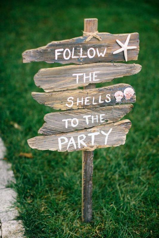 Unique-wedding-sign-ideas-4 8 Most Unique Wedding Party Ideas in 2017