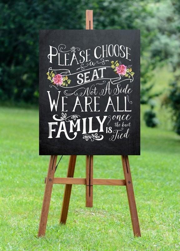 Unique-wedding-sign-ideas-8 8 Most Unique Wedding Party Ideas in 2017