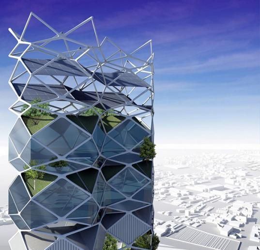 Vertical-Park-Mexico-city 17 Latest Futuristic Architecture Designs in 2020