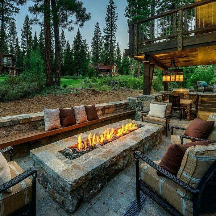 a4d00f34cb9ab09a27bd49e4f09d3296 8 Delightful and Affordable Fire pit Decoration Designs in 2020