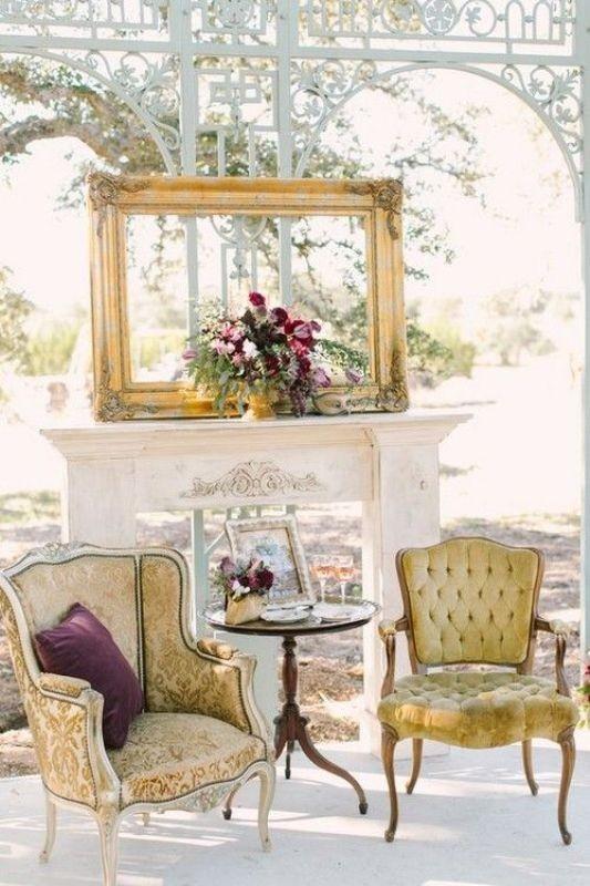 antique-pieces-1 8 Most Unique Wedding Party Ideas in 2017