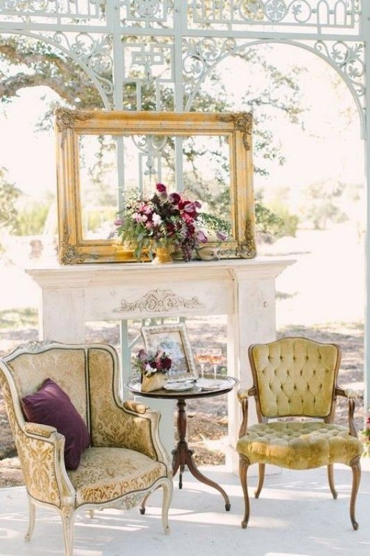 antique-pieces-1 8 Most Unique Wedding Party Ideas in 2020