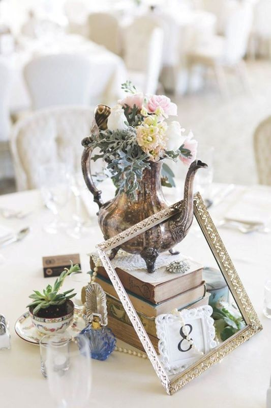 antique-pieces 8 Most Unique Wedding Party Ideas in 2020