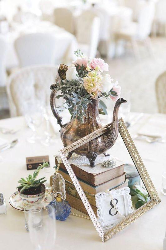 antique-pieces 8 Most Unique Wedding Party Ideas in 2017