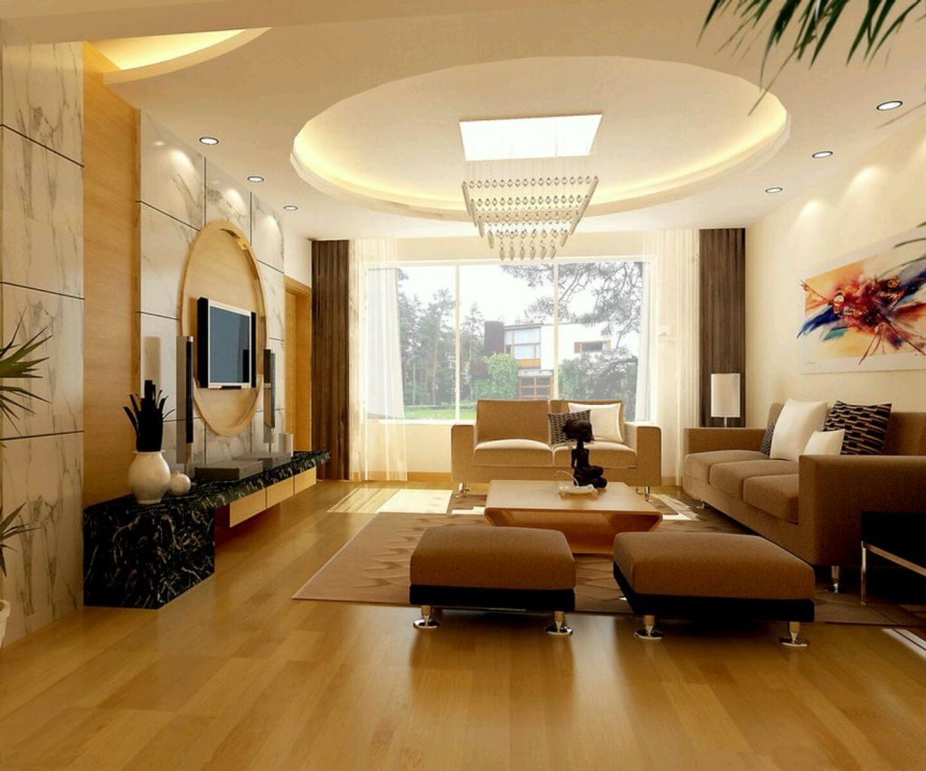 ceiling-design-ideas-for-living-room-with-futuristic-chandelier 10 Ways to Add Glam to Your Hollywood Home