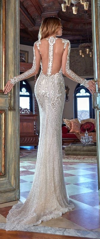 colored-wedding-dresses-2017-10 75+ Most Breathtaking Colored Wedding Dresses in 2020