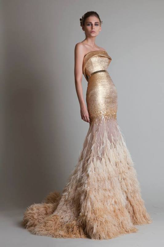 colored-wedding-dresses-2017-101 75+ Most Breathtaking Colored Wedding Dresses in 2020